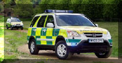 CR-V Joins Wiltshire Ambulance Fleet